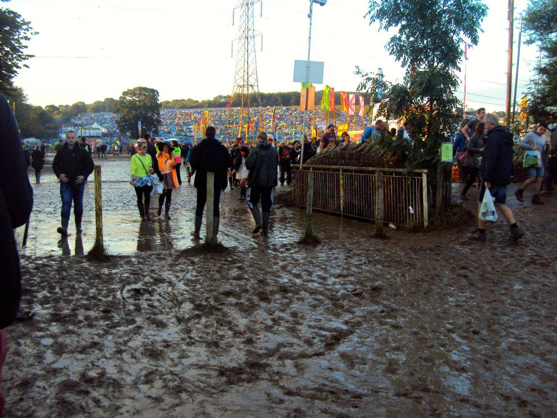 Mud at Glastonbury