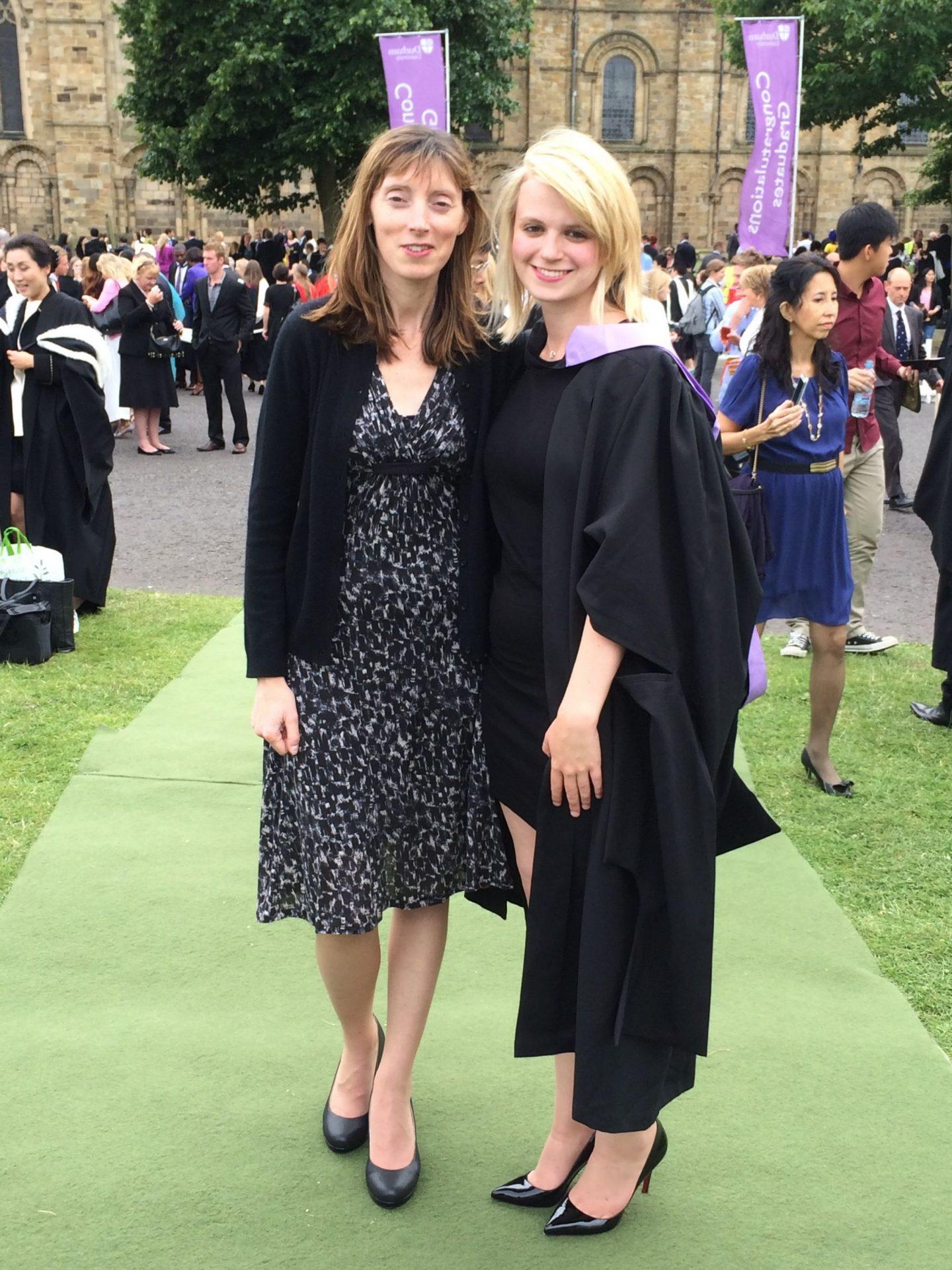 Laura with Mum
