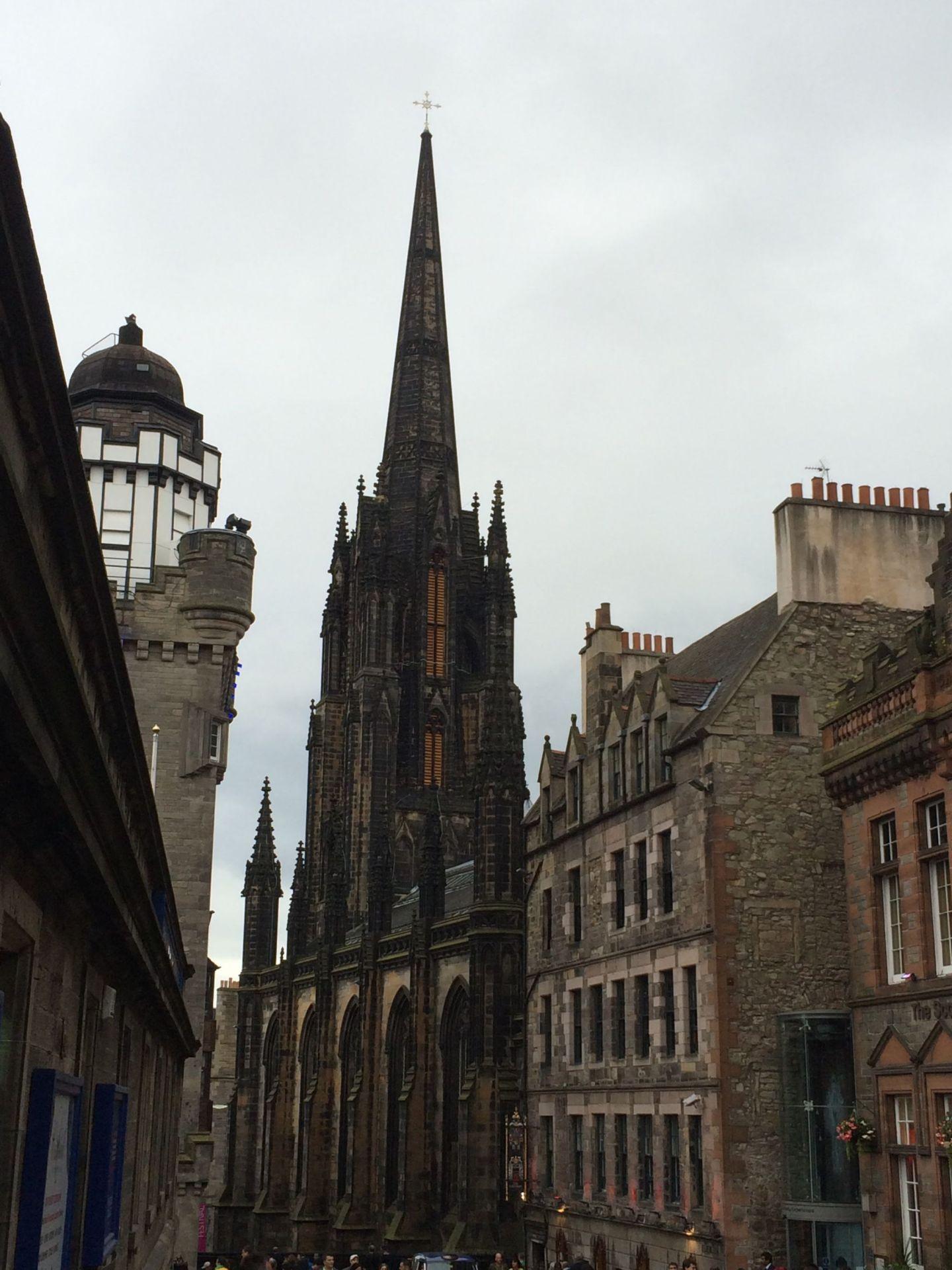 Gothic architecture of the Royal Mile, Edinburgh