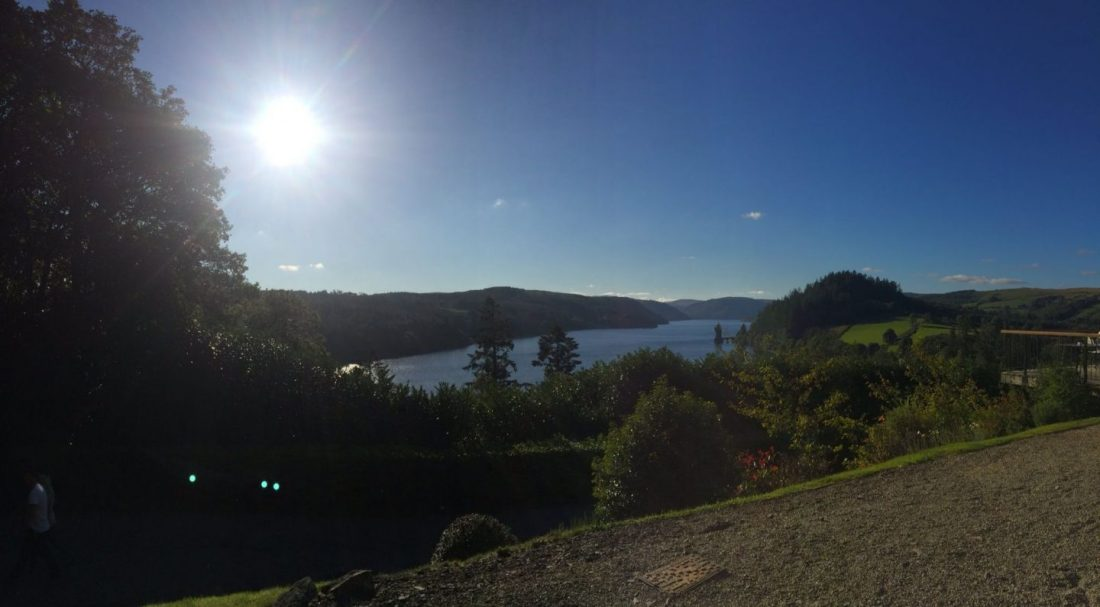 Lake views in Wales