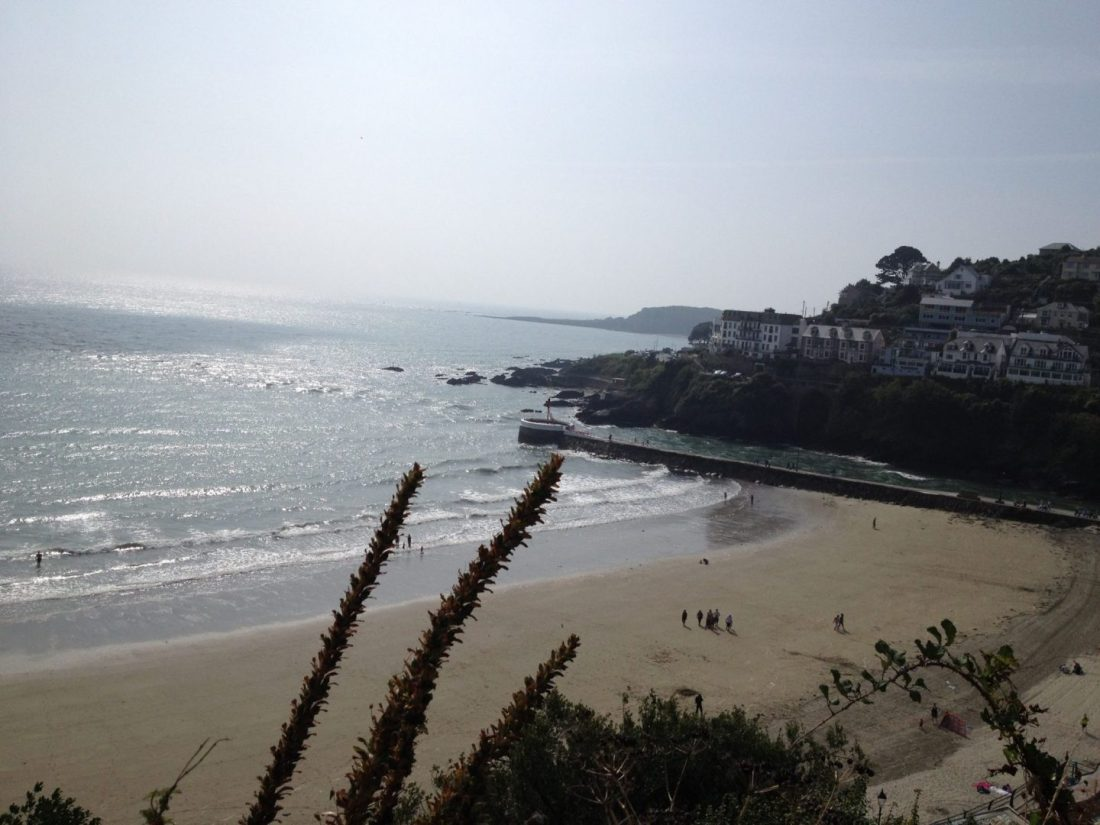 Beach in Looe, Cornwall
