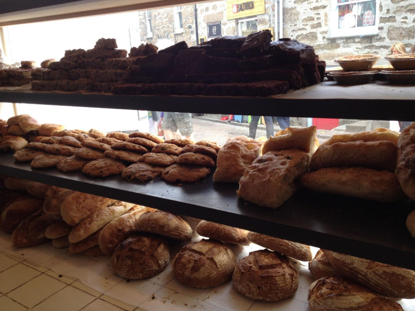 Bakery in St Ives, Cornwall