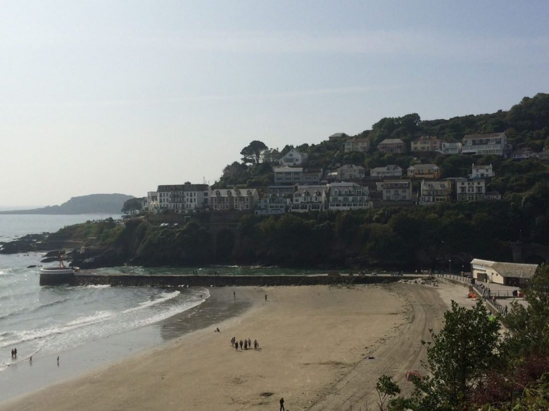 Coastal views in Looe, Cornwall
