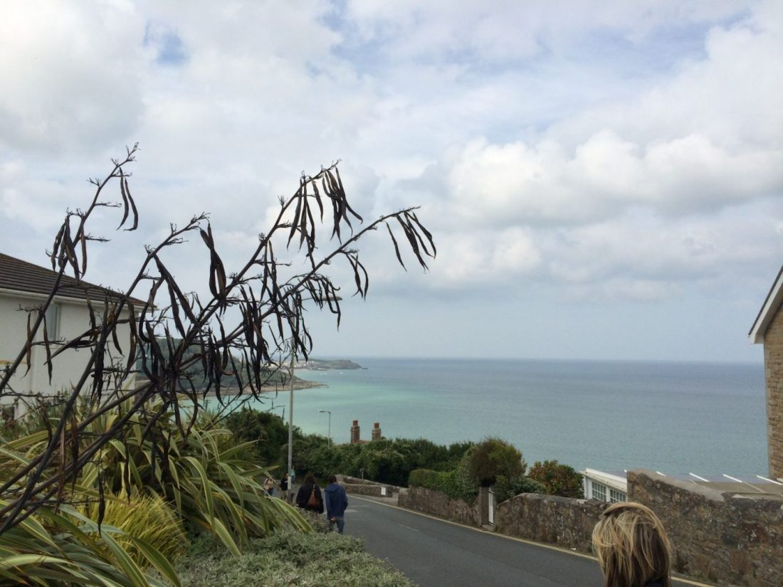 The road to Carbis Bay, Cornwall