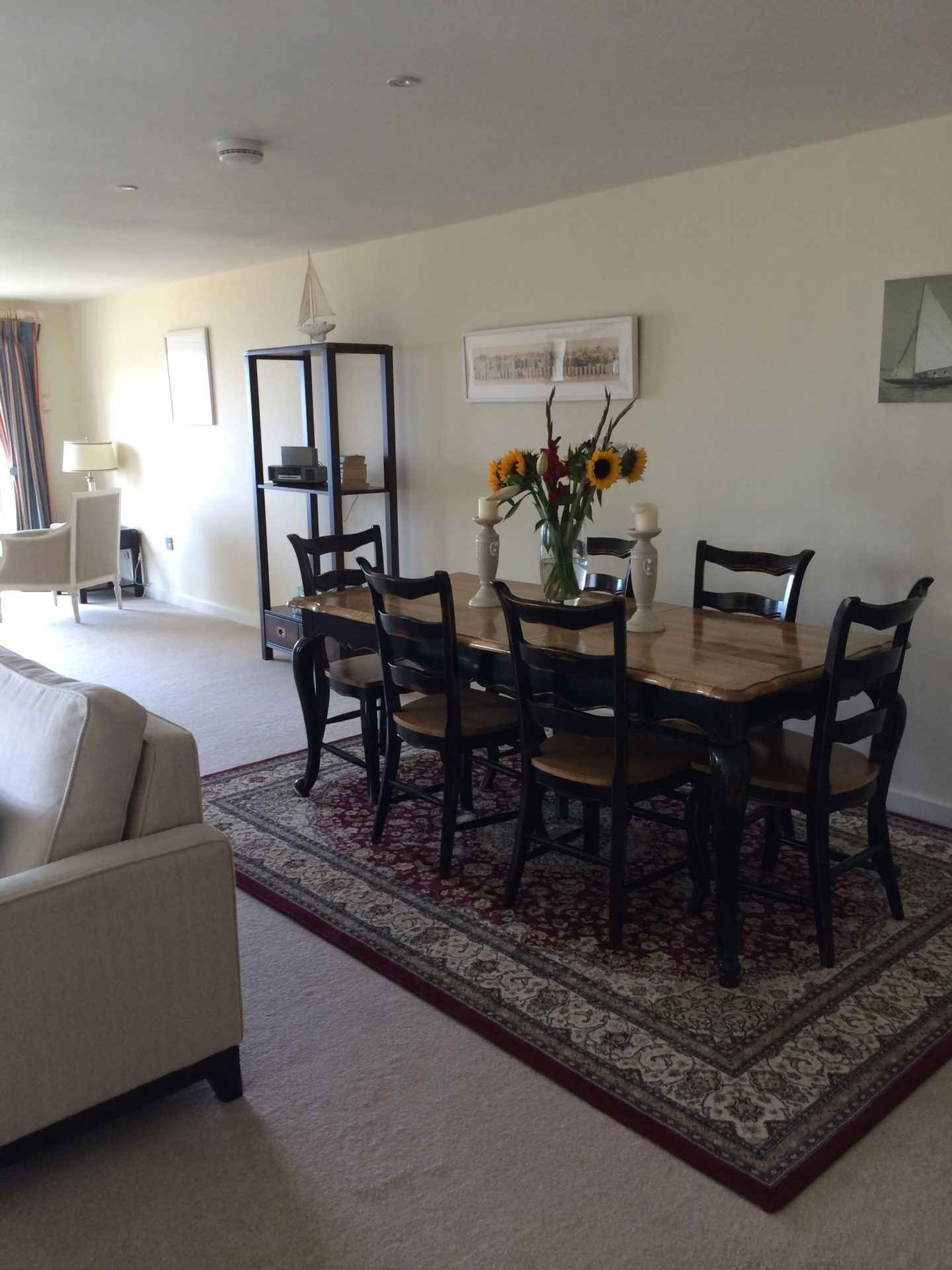 Dining room at Hawkes Point