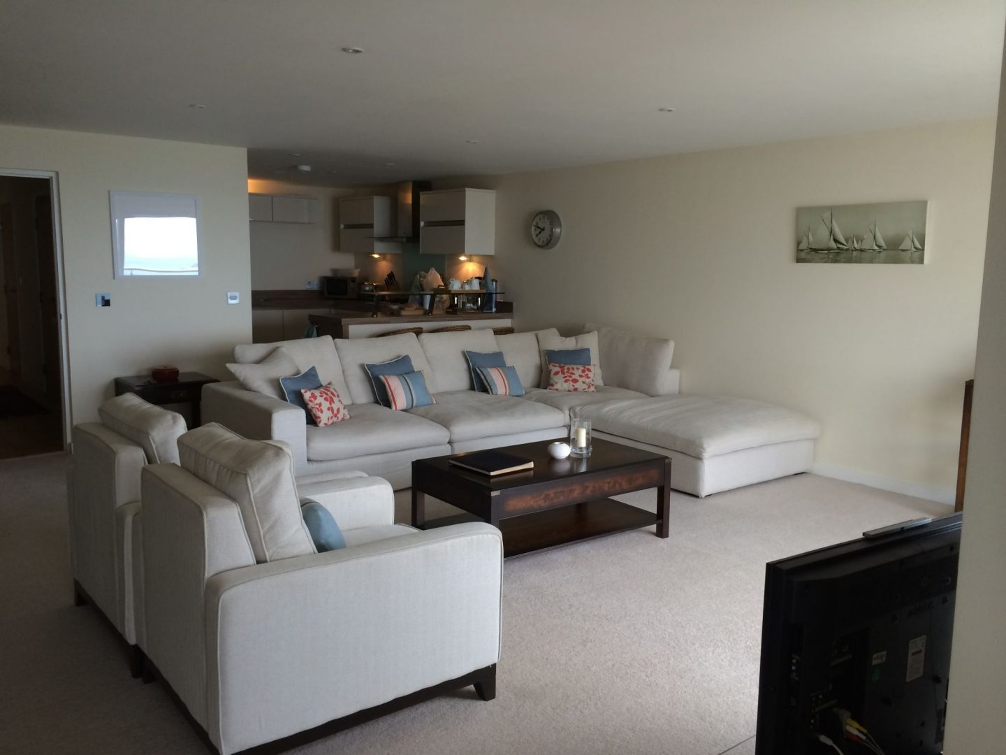 Living room in Hawkes Point, Carbis Bay