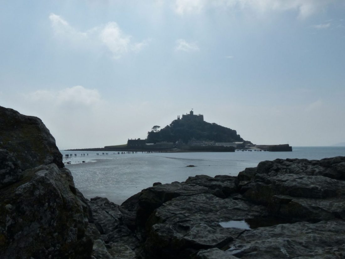 Rocky St Michael's Mount, Cornwall