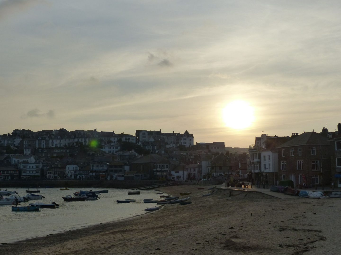 Sunset in St Ives, Cornwall