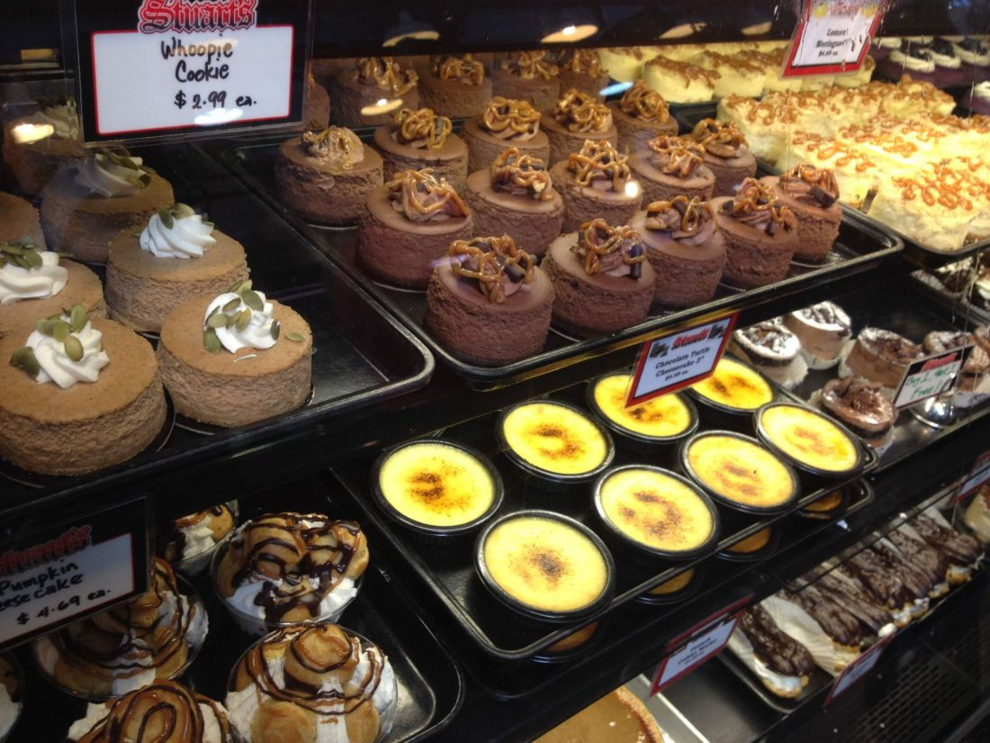 Cakes from Granville Island Public Market, Vancouver