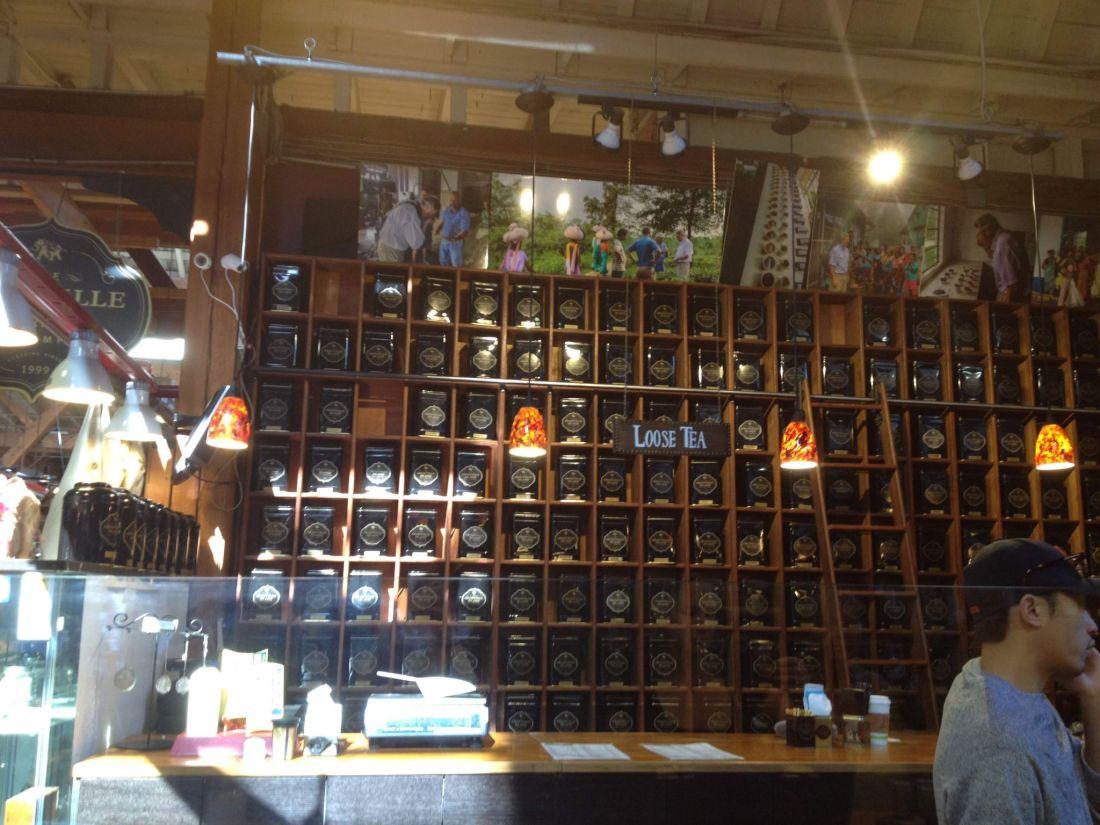 Tea from Granville Island Market, Vancouver