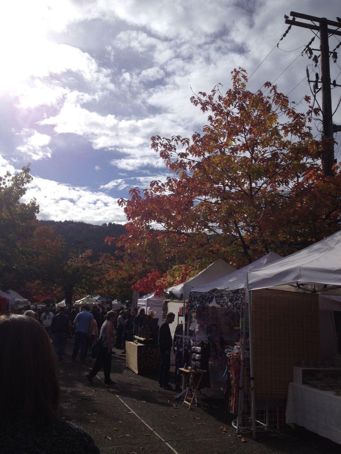 Saturday Market, Salt Spring Island