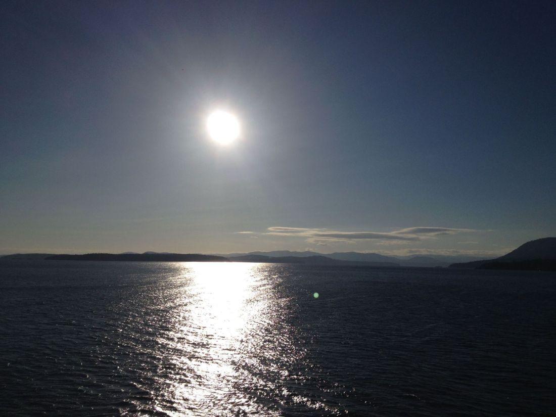 Ferry from Tsawwassen to Victoria, British Columbia