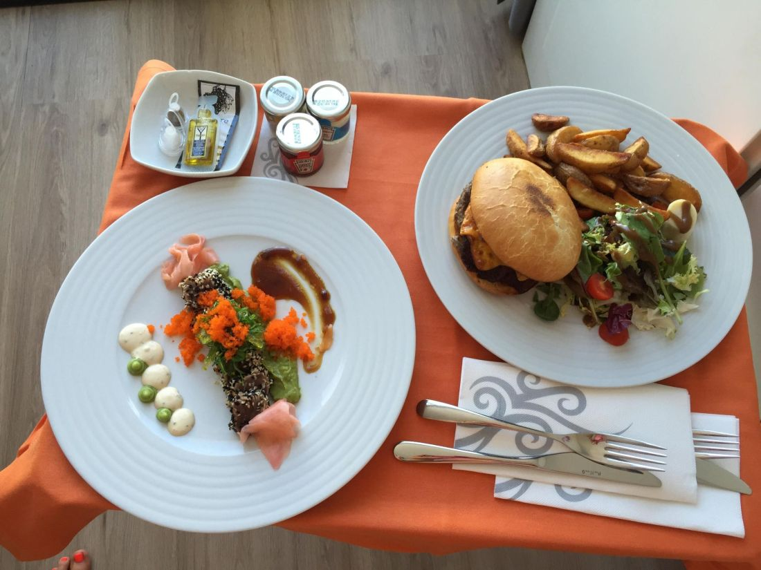Room service at the Hard Rock Hotel Ibiza