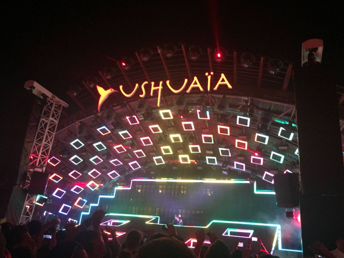 Chainsmokers at Ushuaia, Ibiza