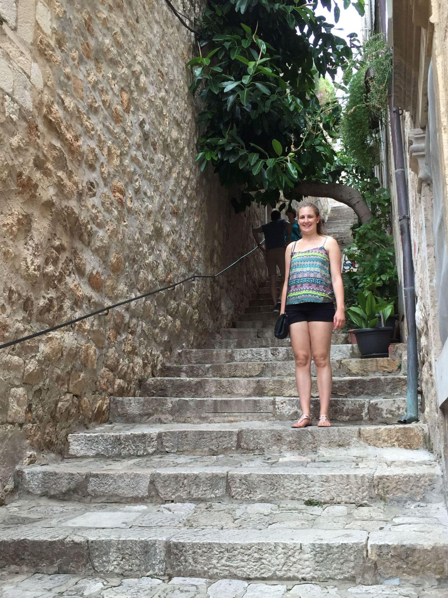 Jo in Dubrovnik