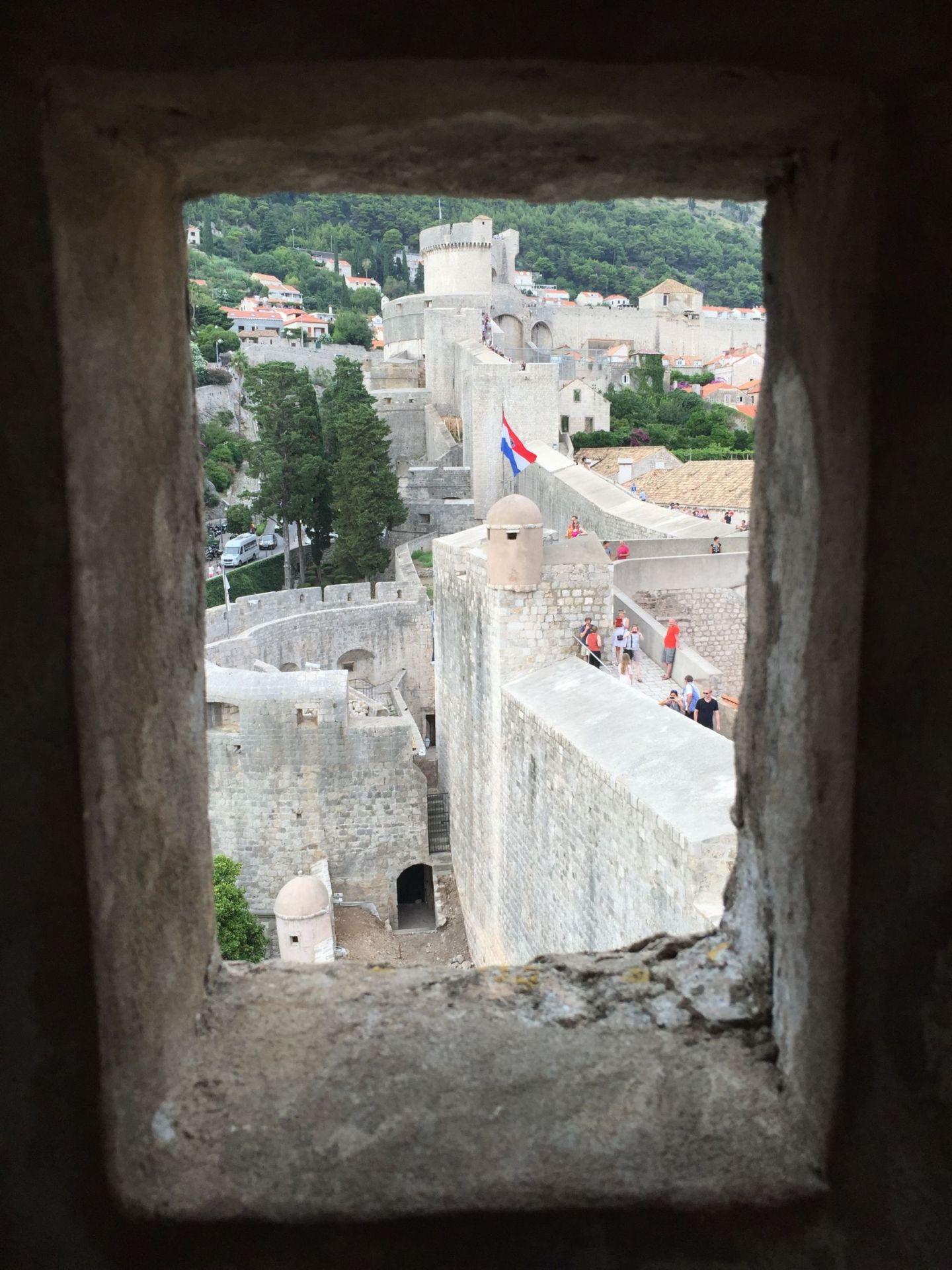 City Walls in Dubrovnik, Croatia