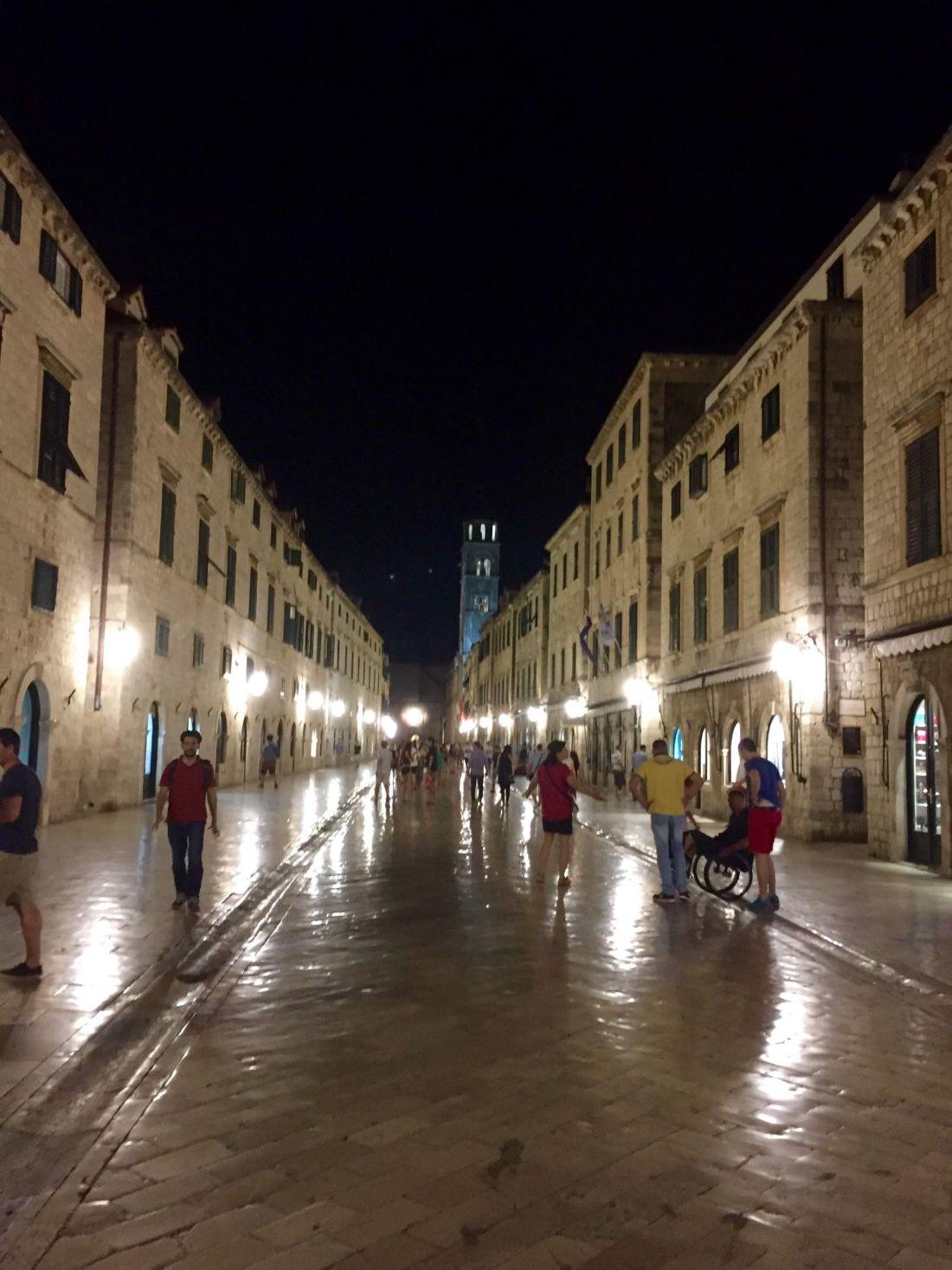 Dubrovnik Old Town plaza