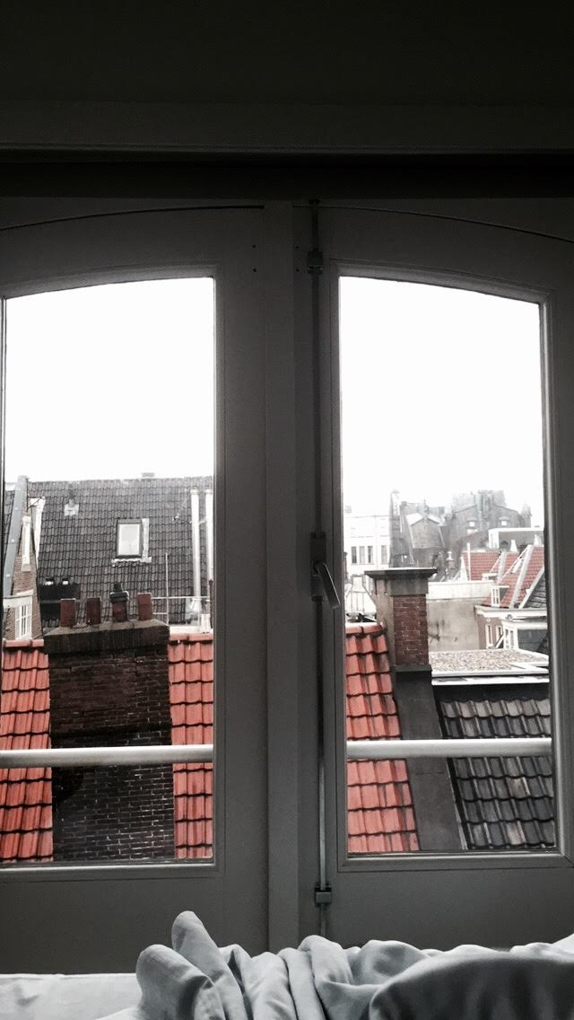 Views over Amsterdam's rooftops