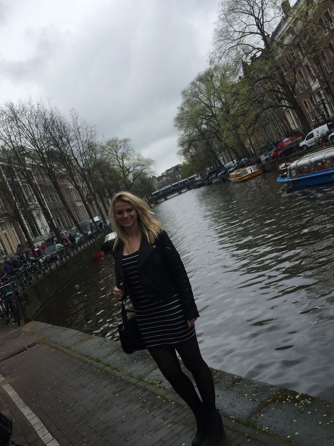 Laura in Amsterdam