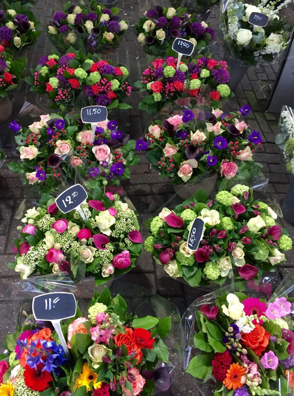 Flowers in Bloemenmarkt, Amsterdam