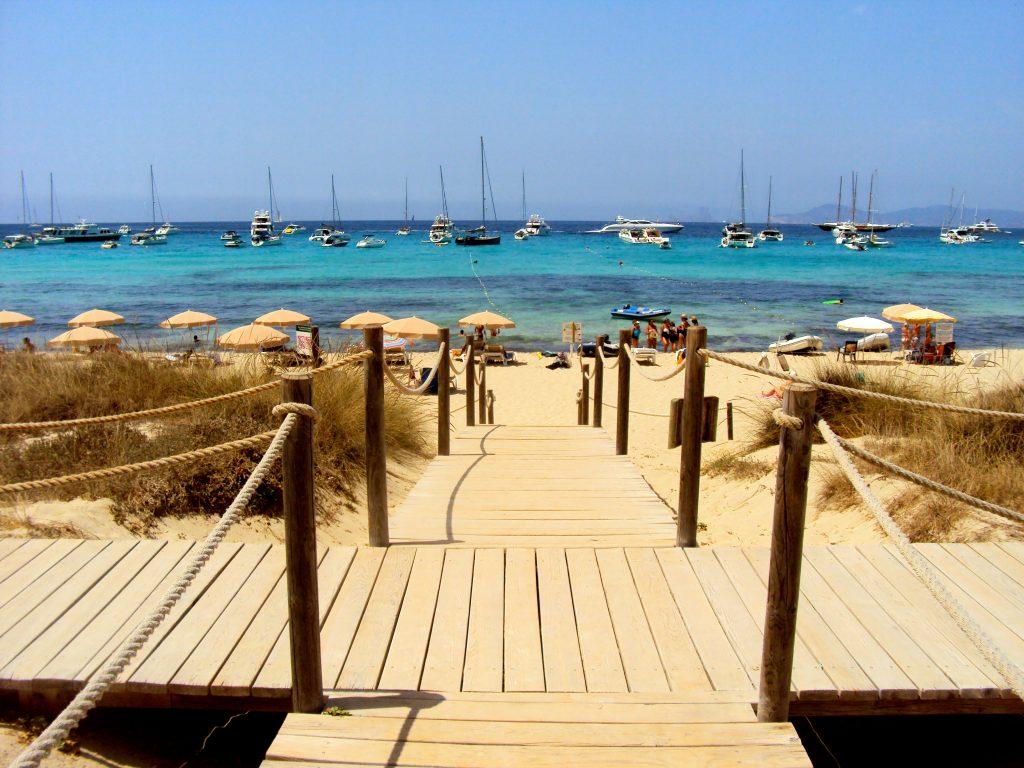 Boardwalk on Formentera