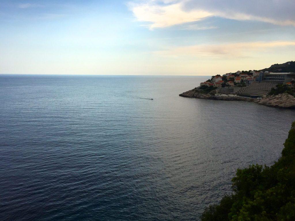 Views across Dubrovnik coast