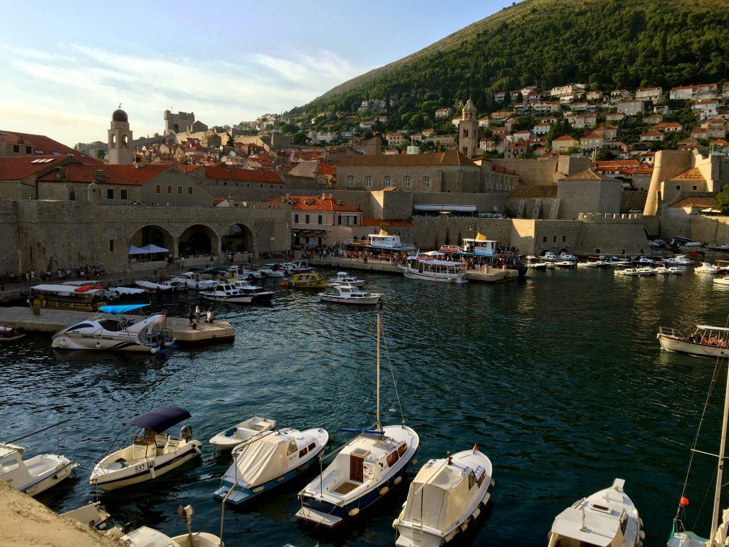 Dubrovnik Old Town Harbour