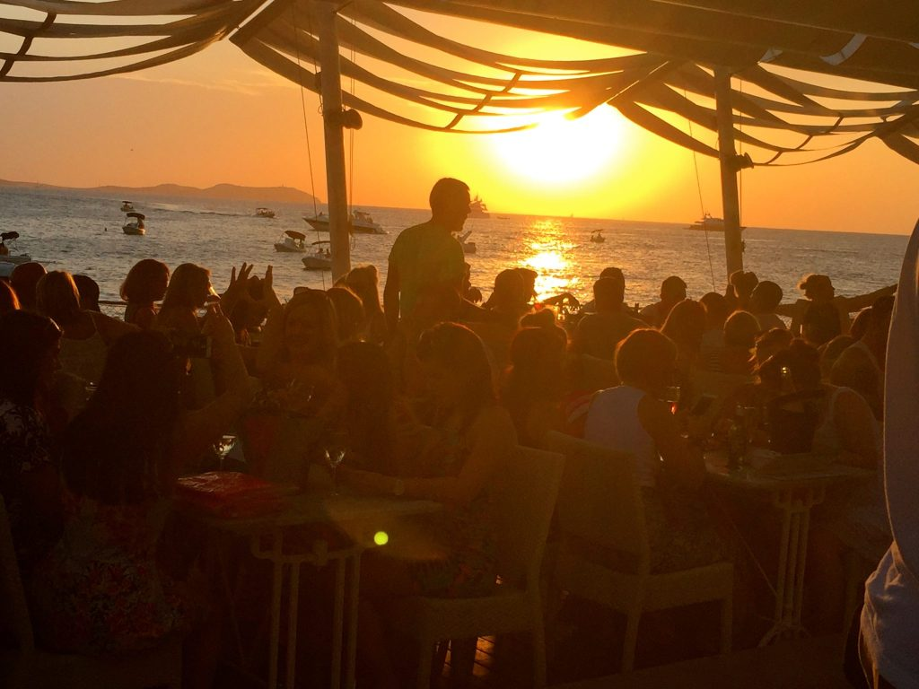 Cafe Mambo on the Sunset Strip, Ibiza