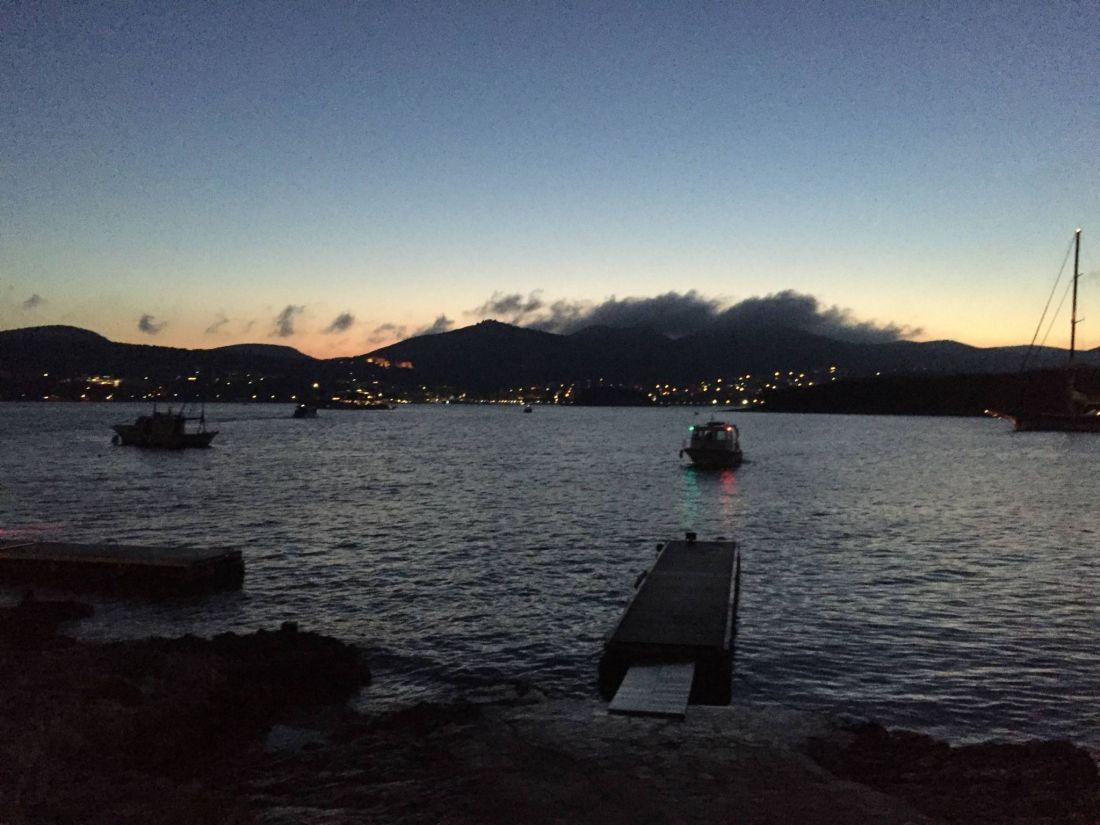 Sunrise from Carpe Diem, Hvar
