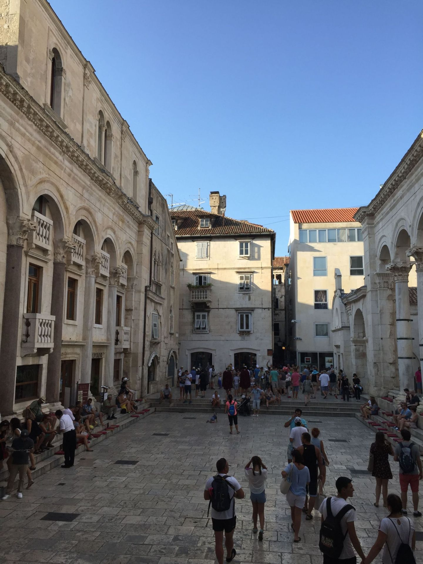 Courtyard of the Diocletian's Palace, Split