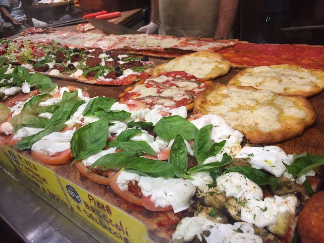 Roscioli pizza, Rome