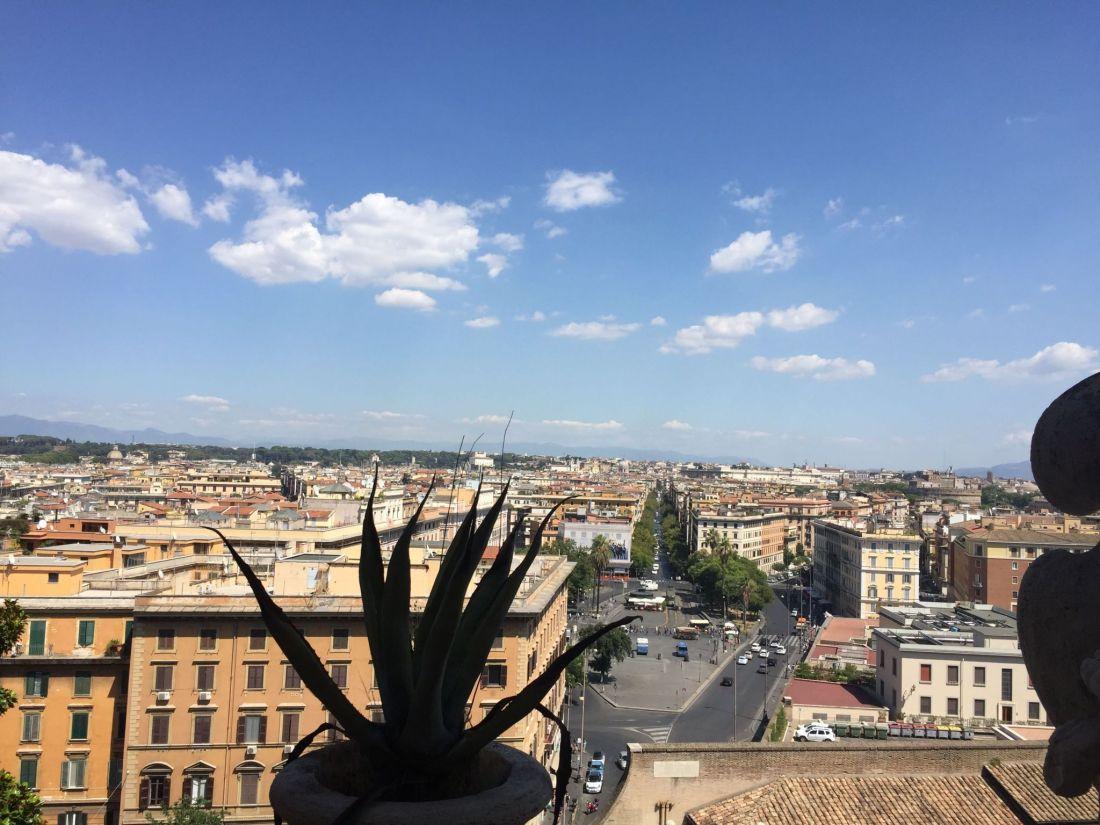 Views across Vatican City, Rome