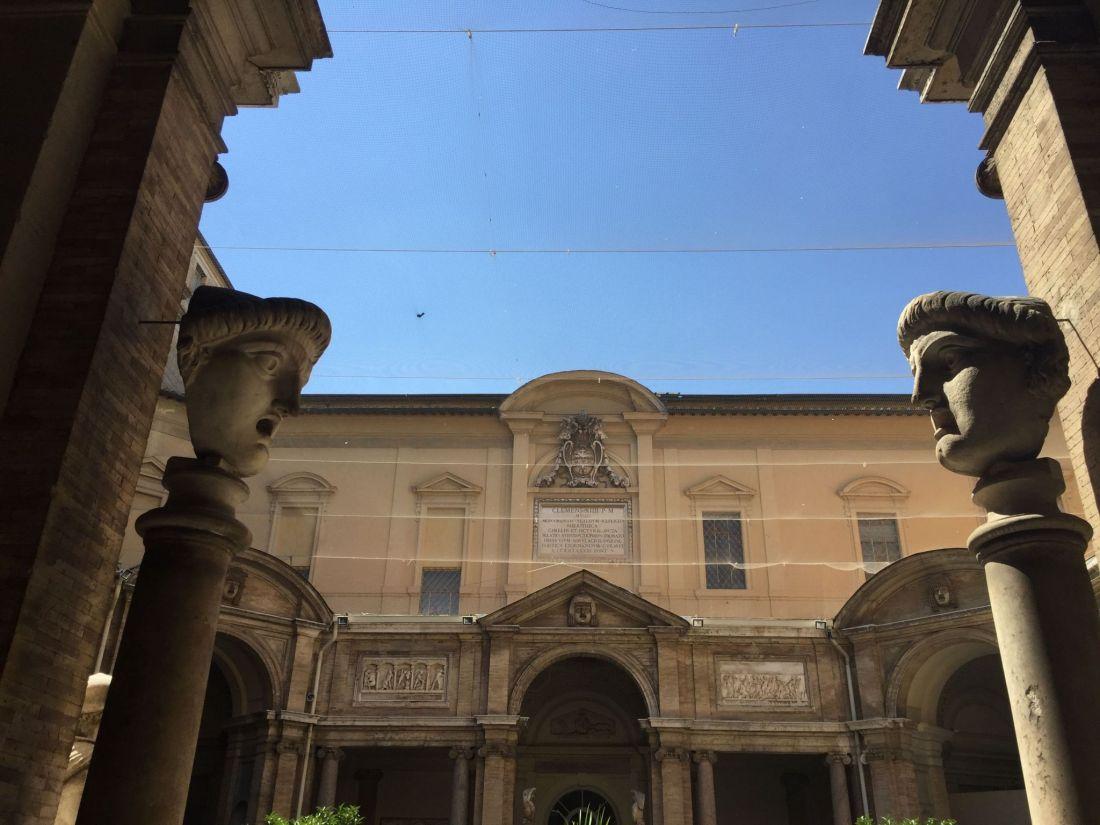 Inside the Vatican Museum, Rome
