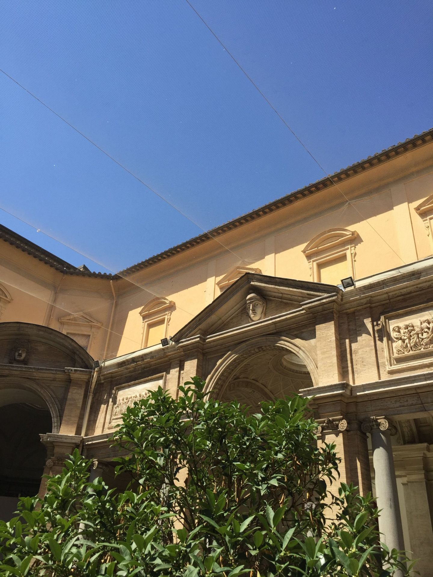 Courtyard in Vatican City