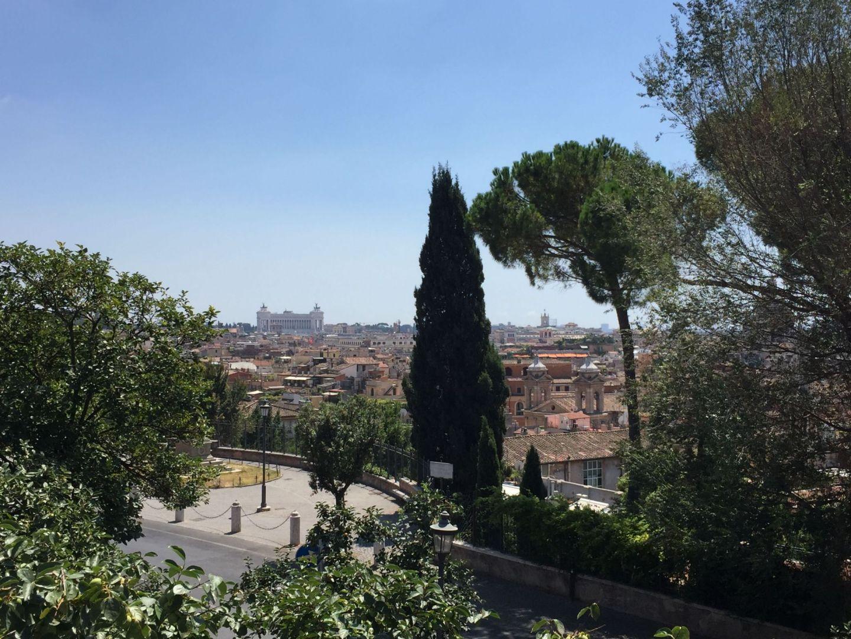 Views across Rome, Italy