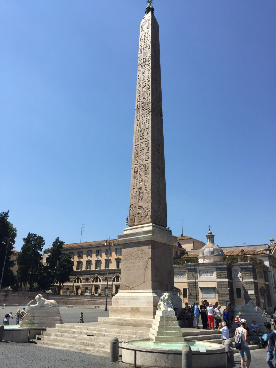 Flaminio Obelisk, Rome