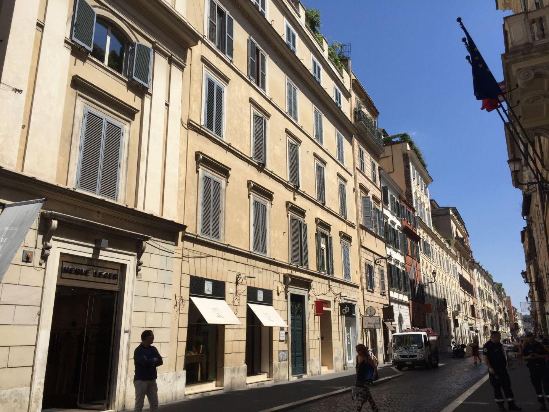 Shops near the Spanish Steps, Rome