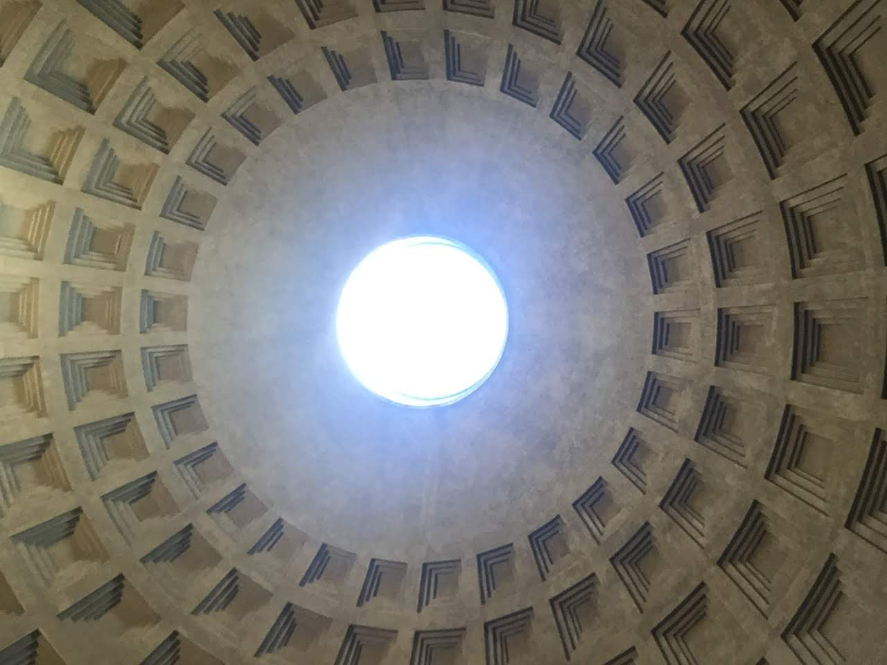 Ceiling of the Pantheon, Rome