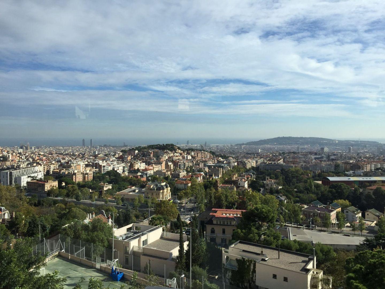 Views from Mount Tibidabo, Barcelona
