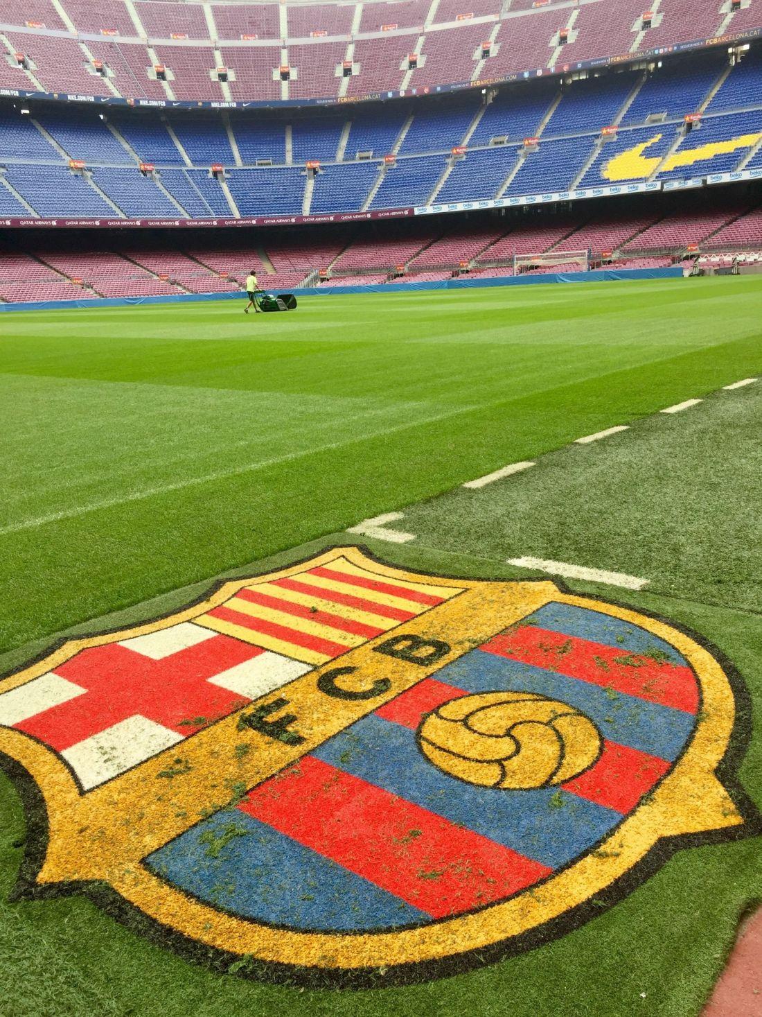 Camp Nou pitch, Barcelona