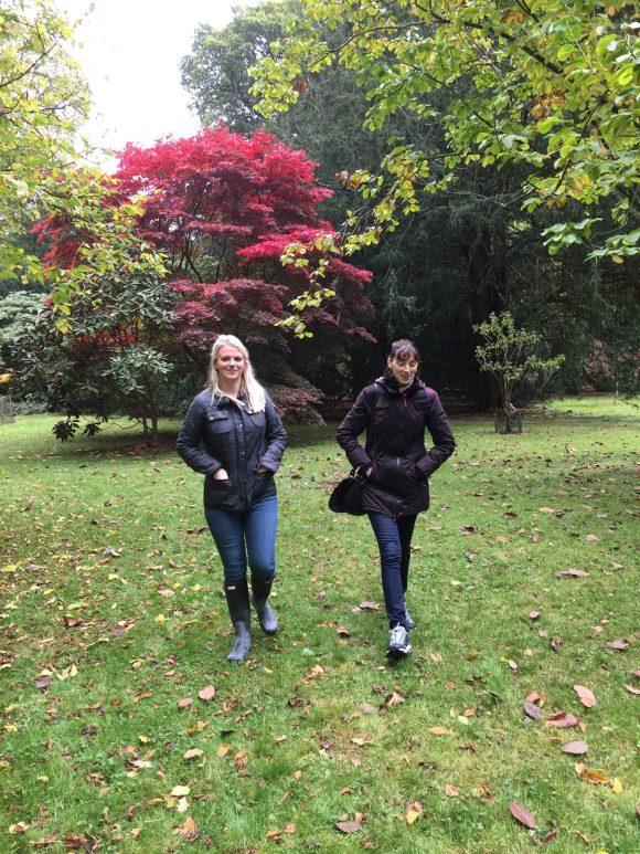 Girls in Westonbirt Arboretum
