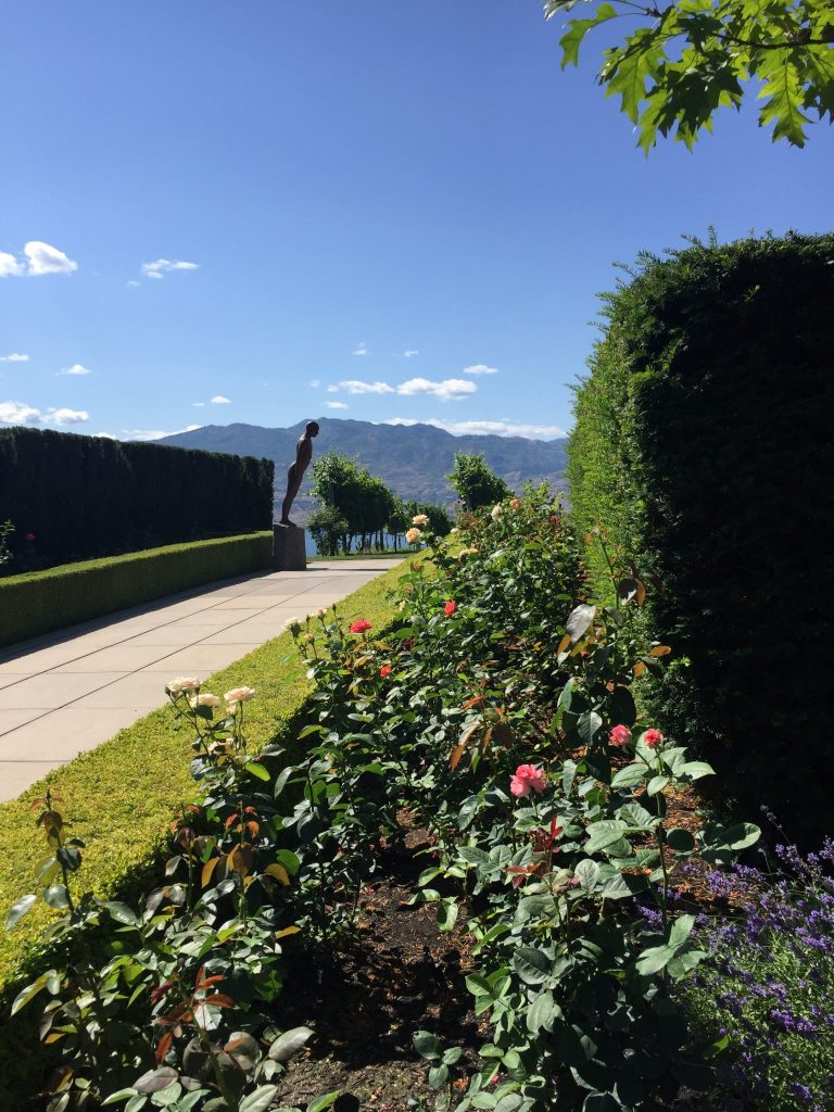 Mission Hill Winery gardens, Okanagan