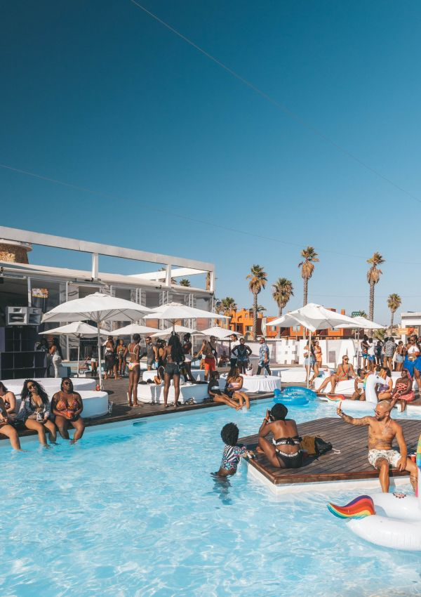 Pool party in Las Vegas, Nevada