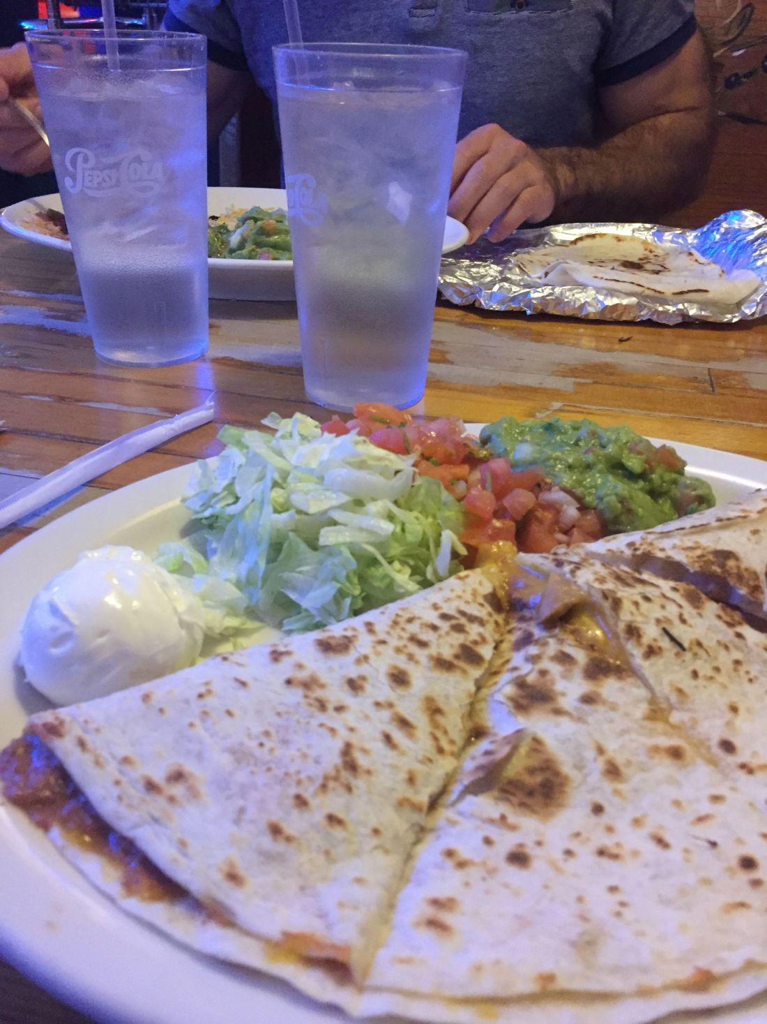 Delicious Mexican food from Blue Water Taco Grill