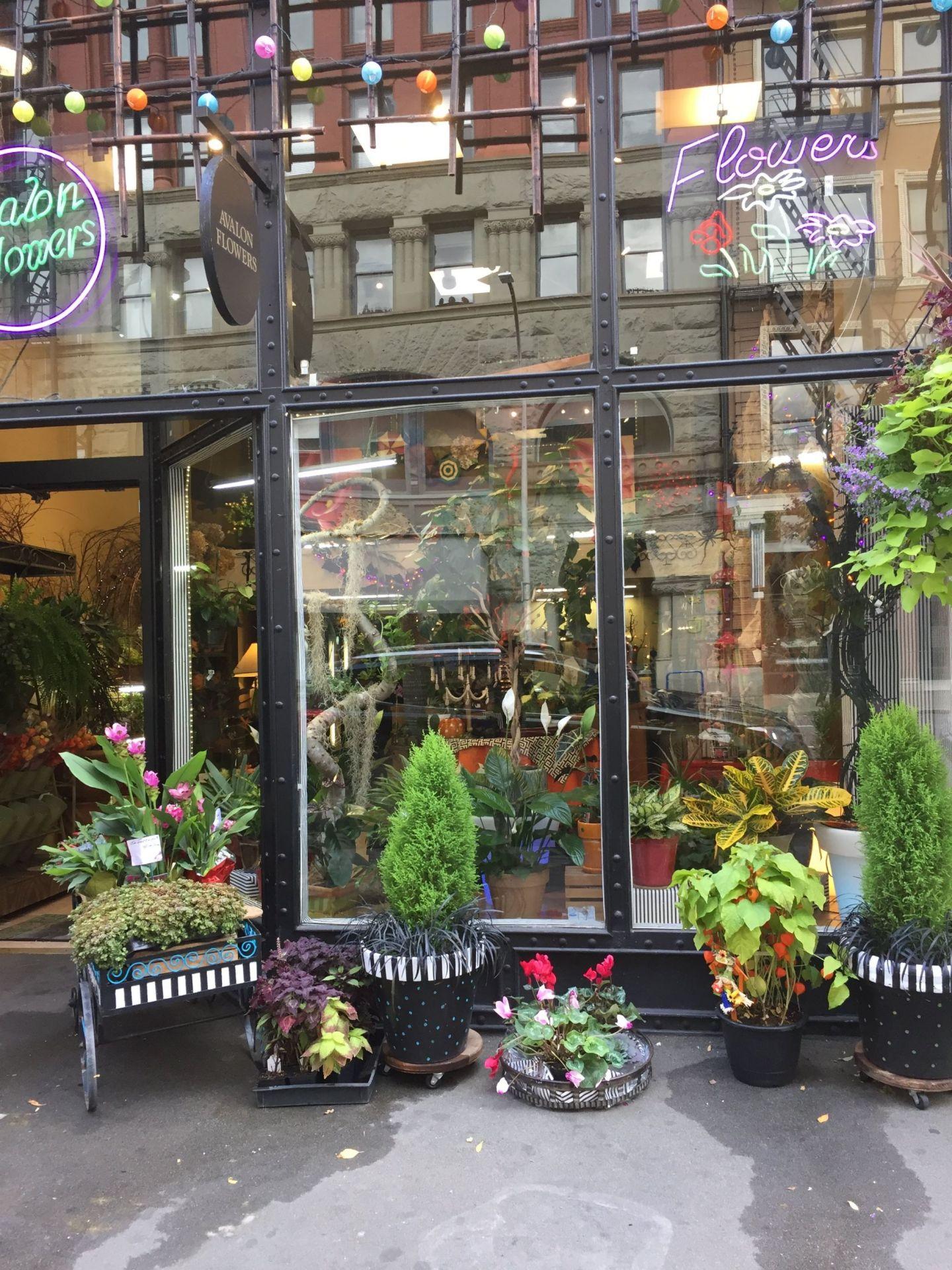 Flower store in Portland