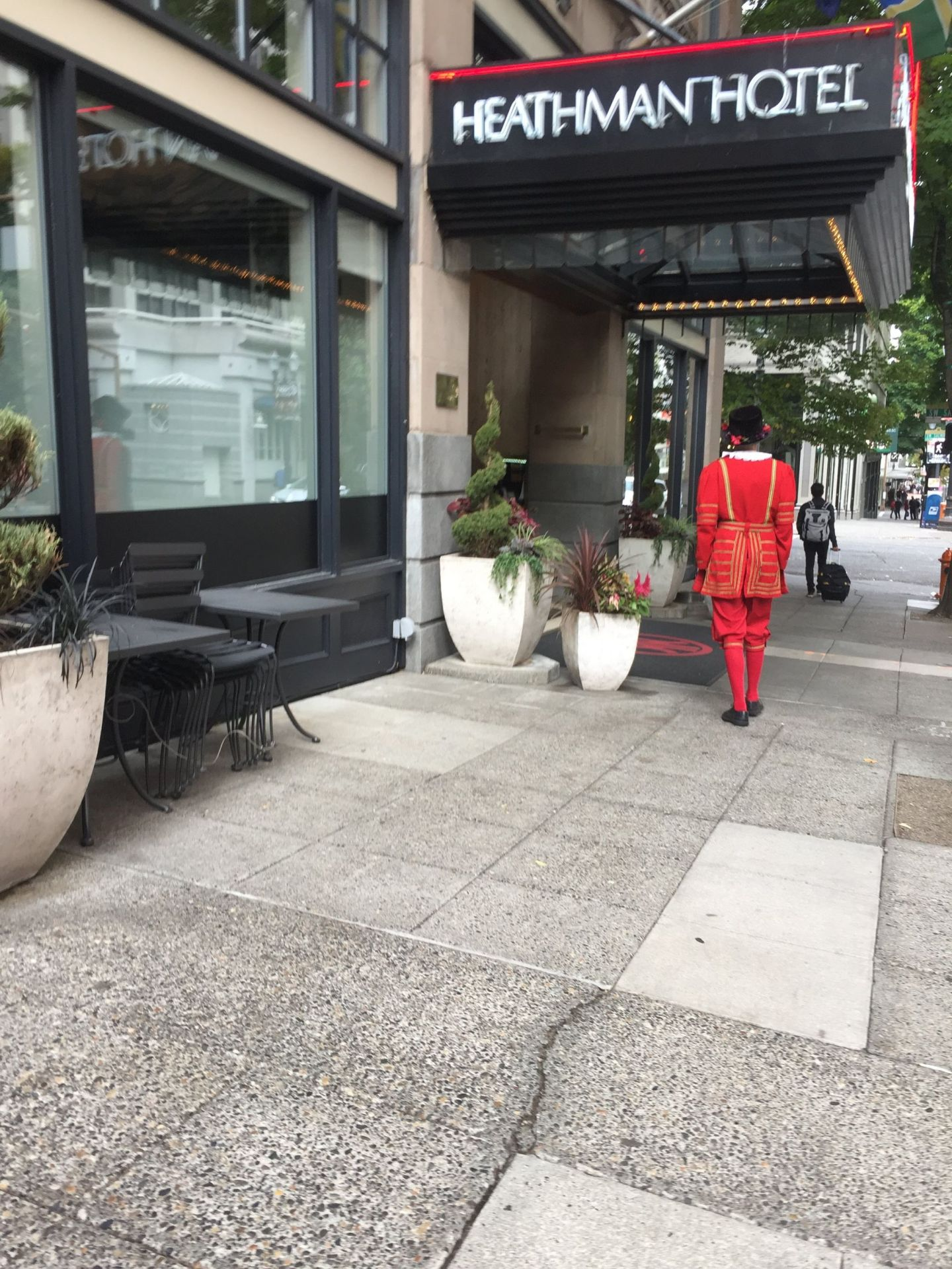 Beefeater at a hotel in Portland, Oregon