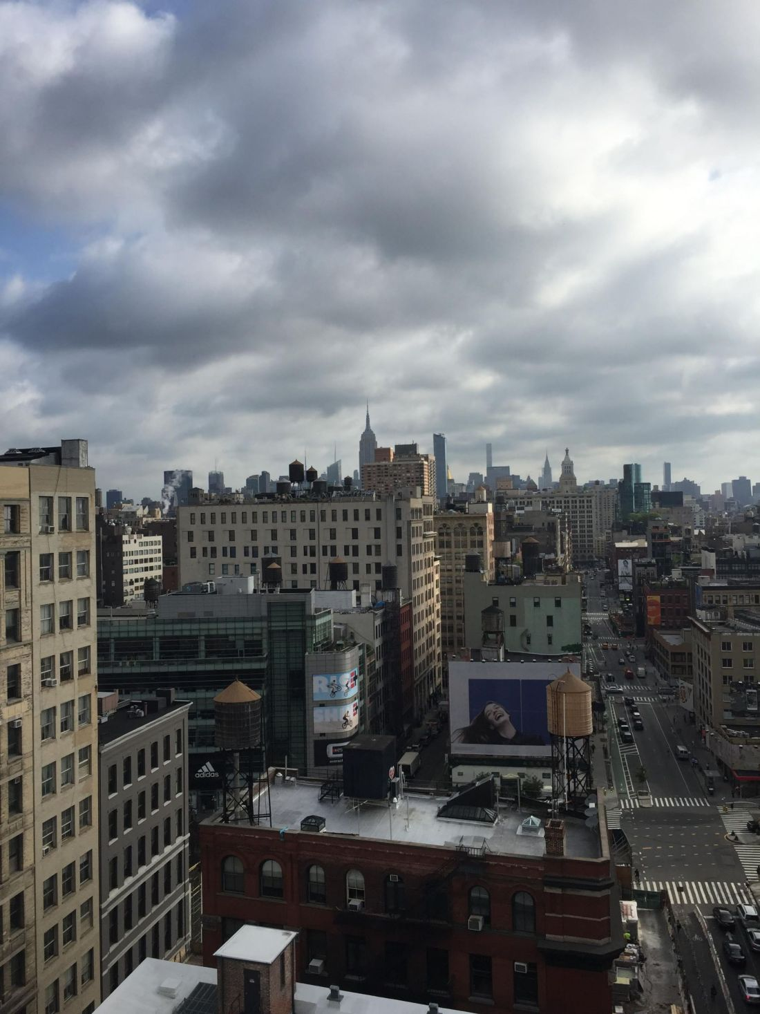 Views from Lafayette Street, SoHo, New York City