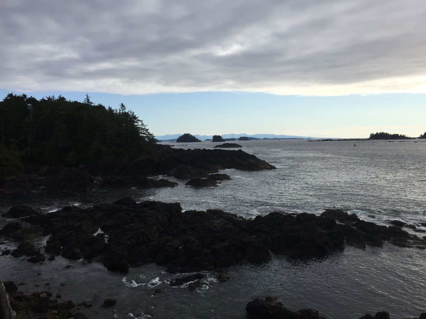 Lookout from the Wild Pacific Trail on Vancouver Island