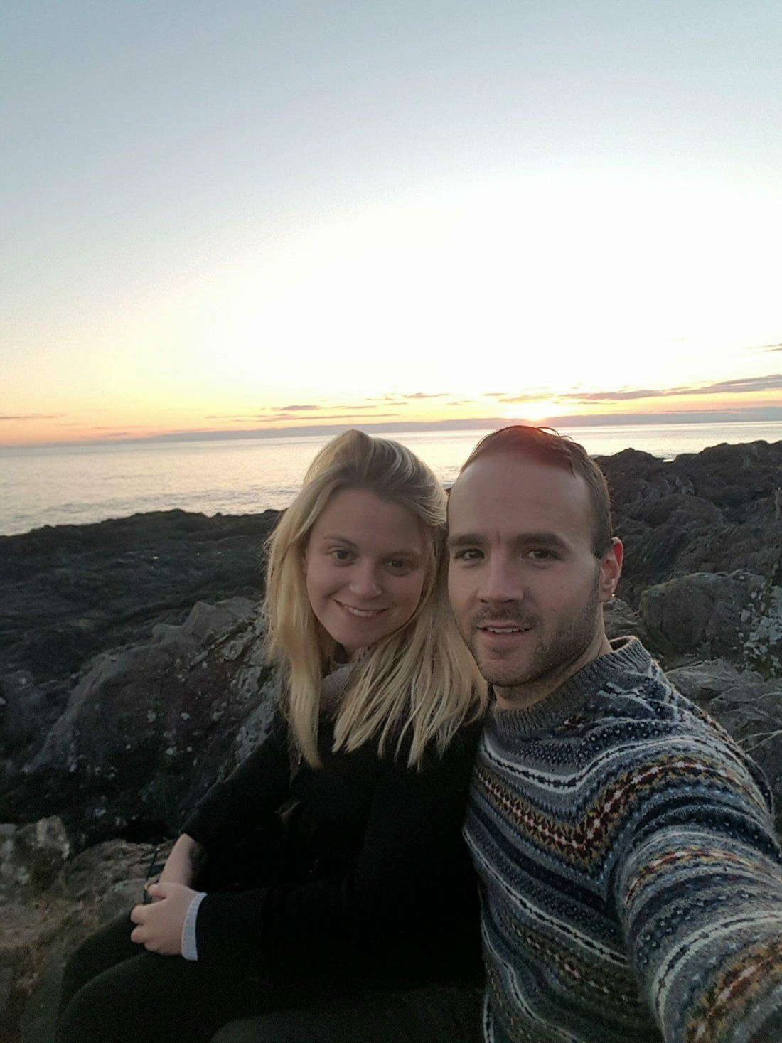 Couple at the Wild Pacific Trail, Ucluelet