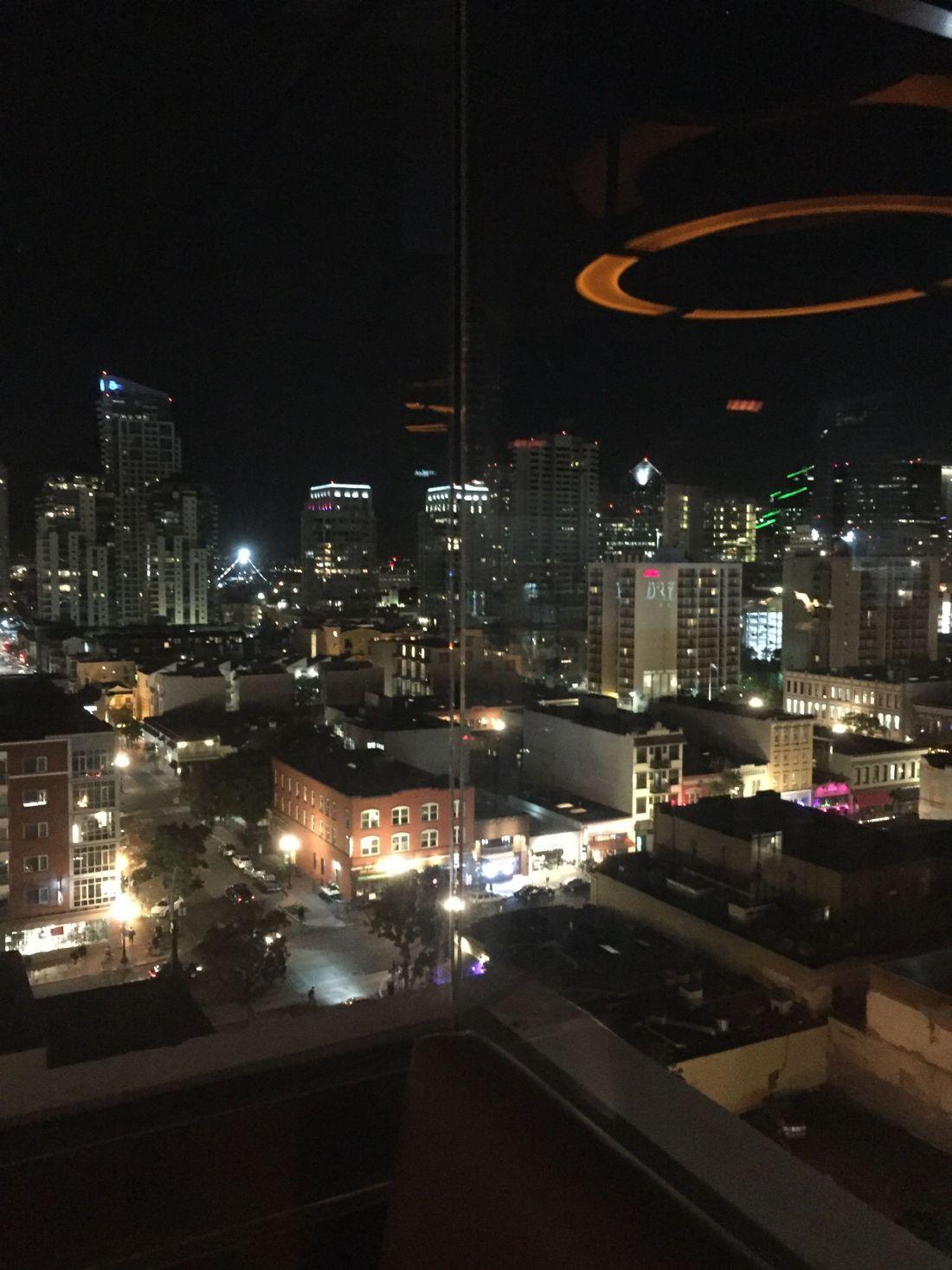 The Nolen rooftop, San Diego